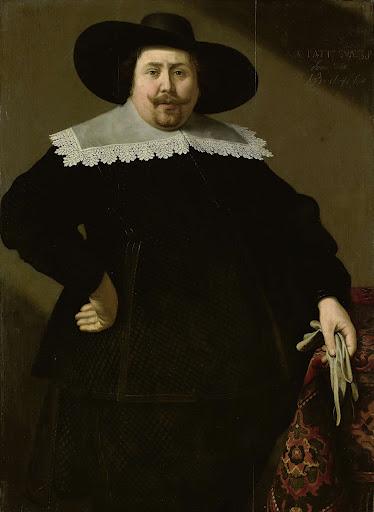 アムステルダムのビール醸造者、フィリップ・デニスの肖像