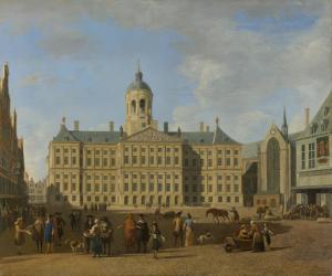 アムステルダムのダムの市役所