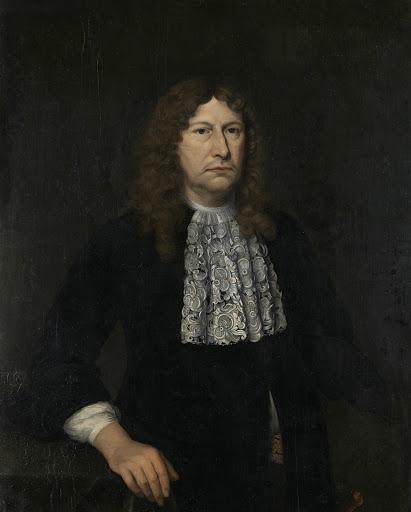 オランダ東インド会社総督、ヨハネス・カンプヒュイスの肖像