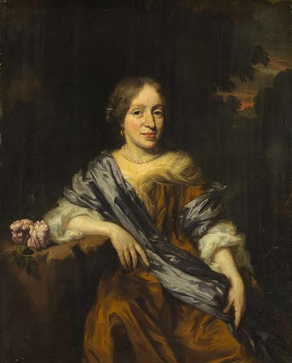 ウィレムとサラ・ポッテイの姉妹、カタリーナ・ポッテイの肖像