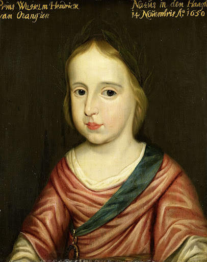オラニエの王子、ウィレム3世の肖像