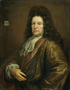 ディーデリック・ヴァン・ホーヘンドルフ(1625-1702)の肖像