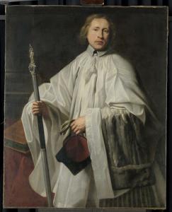 1661年に任命されたアントワープの司祭、書記官、ヤコブス・ホヴァエルツ(1635/36生)