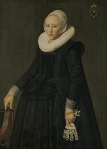 トラインチェ・ティースドル・ヴァン・ノーイー(1606/07-1646)の肖像