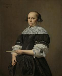 ウィレム・ヤコブス・バエルトの妻、エリザベス・ヴァン・ケッセル(1640-1717)