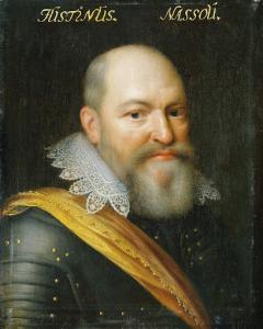 ウィリアム1世とエヴァ・エリンクスの嫡出子、ユスティヌス・ヴァン・ナッサウの肖像