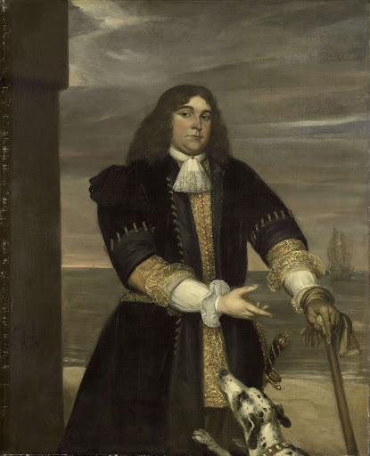 海軍大尉、ミヘル・アドリアーンス・デ・リュイテルの義理の息子、ヤン・ヴァン・ヘルデル(1647-73)