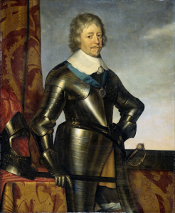 オラニエの王子、フレデリック・ヘンドリック(1584-1647)の肖像