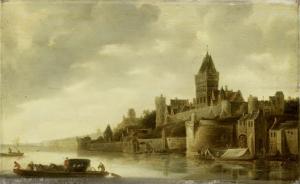 ナイメーヘンのヴァルクホフの眺め