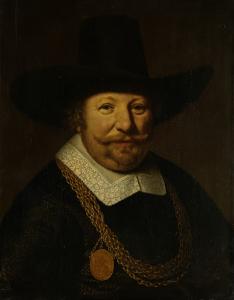 ゼーラントの海将、バンクケルトと呼ばれていた、ヨース・ヴァン・トラッペンの肖像