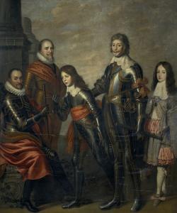 四代のオラニエの王子、ウィリアム1世、マウリッツ、フレデリック・ヘンリー、ウィリアム2世、ウィリアム3世