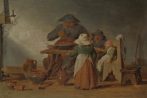 農家の食事