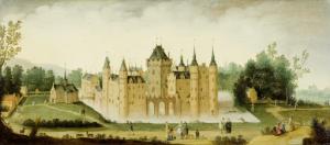 エグモンド・アーン・デン・ホーフ城の眺め