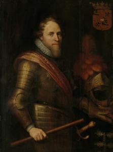 オラニエの王子、マウリッツの肖像
