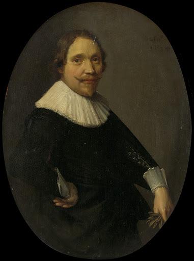 スペイン・オランダ軍騎兵大尉、ストーテンブルフ卿、ウィレム・ヴァン・オルデンバルネヴェルトの肖像