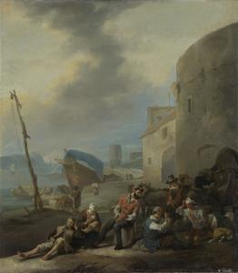イタリアの港