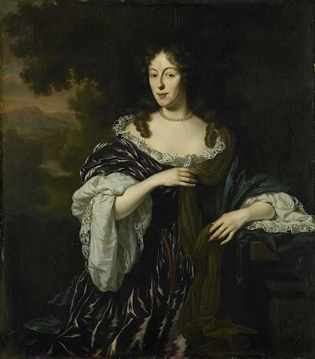 ヘンドリック・ビッケルの妻、マリア・シャープの肖像
