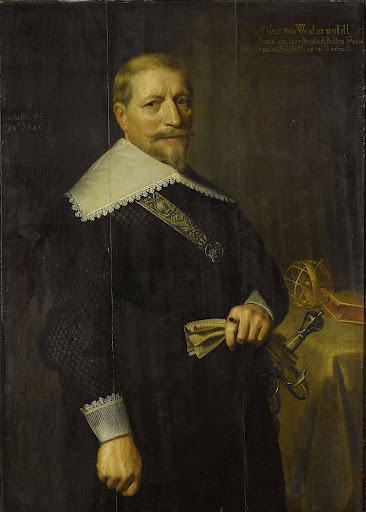 オランダ東インド会社特別顧問、アダム・ヴェステルヴォルトの肖像