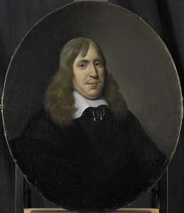 1657年選出、オランダ東インド会社ロッテルダム支社長、ウィレム・ハルティフスヴェルトの肖像