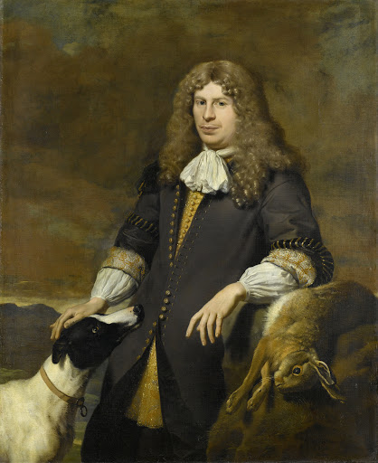 1672年のアムステルダム市会議員、ヤコブ・デ・フラエフと思われる、男の肖像