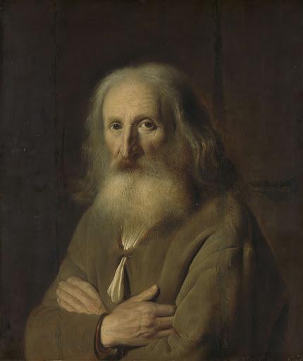 老人の肖像