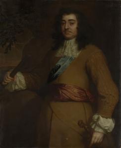 アルベマルレの最初の公爵、イギリスの司法官、政治家、ジョージ・ムンク(1608-69)