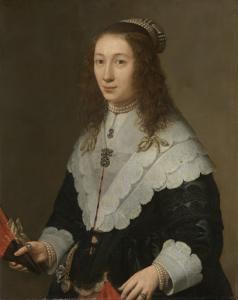 ヒュイラーム・ヴァン・ブレイスワイクの妻、カタリーナ・ヴァン・ウェル(1626-1722)