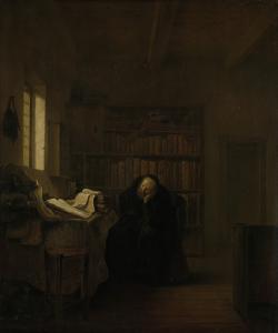 書斎の学者