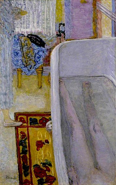 浴室の裸体》ピエール・ボナール|MUSEY[ミュージー]