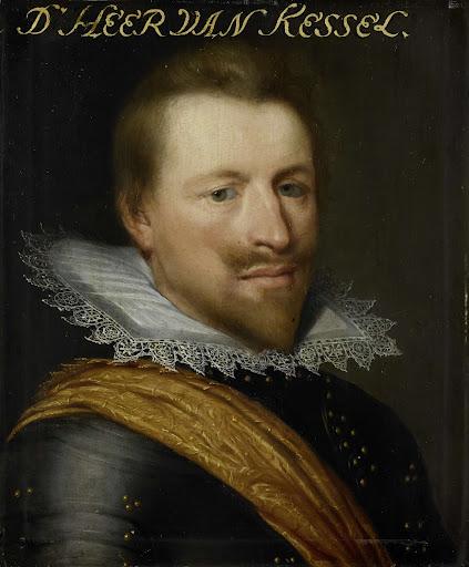 ウィレム・エイドリアンの肖像、ホルンの伯爵、カッセルとウエストウィーゼルの領主、砲兵大将