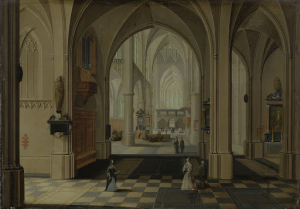 教会の室内装飾
