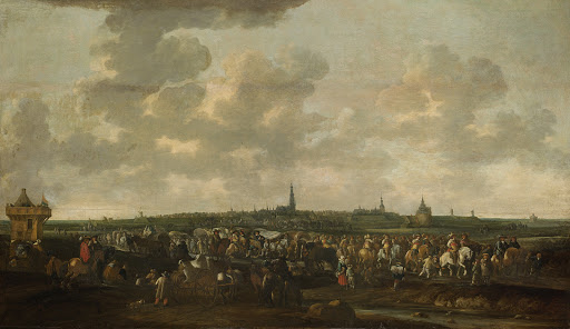 1637年10月10日、ブレダからのスペイン進駐軍の出兵