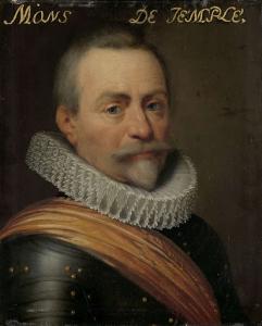 オリヴィエ・ファン・デン・テンペルの肖像、コービークの領主