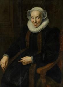 ユトレヒトのマリア(1552/53-1629)の肖像