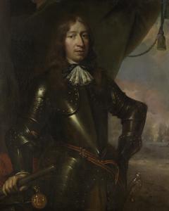 海軍中将ウィレム・ヨセフ・バロン・ファン・ヘント(1625-1672)