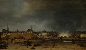 デルフトの火薬庫の爆発、1654年10月12日