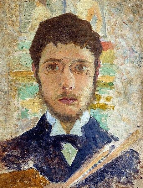 自画像(1889)