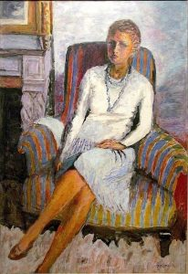 pierre_bonnard__portrait_of_leila_claude_anet__1930