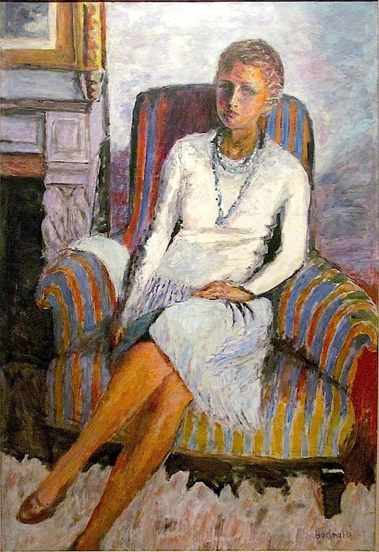 レイラ・クロード・アネの肖像