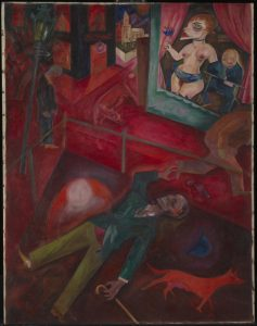 Suicide 1916 by George Grosz 1893-1959