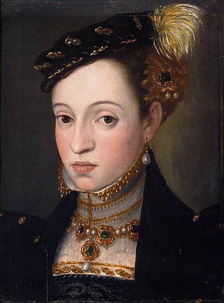 フェルディナント1世の子女の胸像