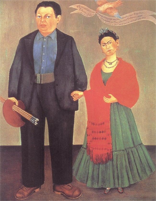 フリーダとディエゴ・リベラ