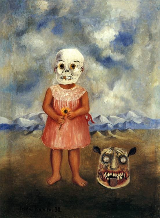 死の仮面を被った少女
