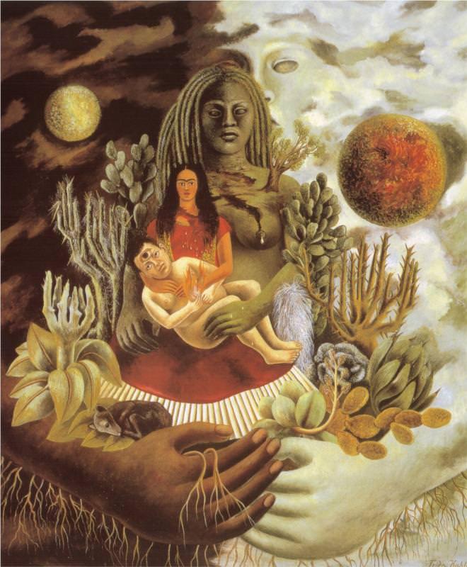 宇宙の愛の抱擁、大地(メキシコ)、自分、ショロトル氏