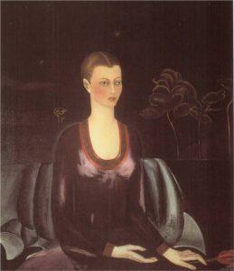 アリシア・ガラントの肖像