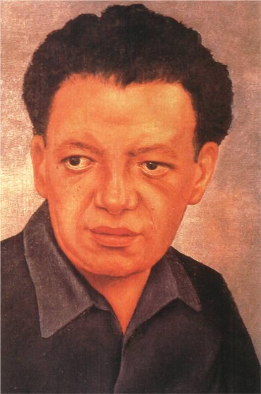 ディエゴ・リベラの肖像