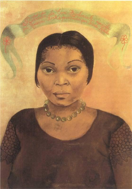エヴァ・フレデリックの肖像