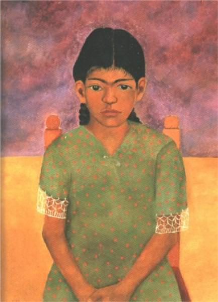 ヴァージニアの肖像(少女)