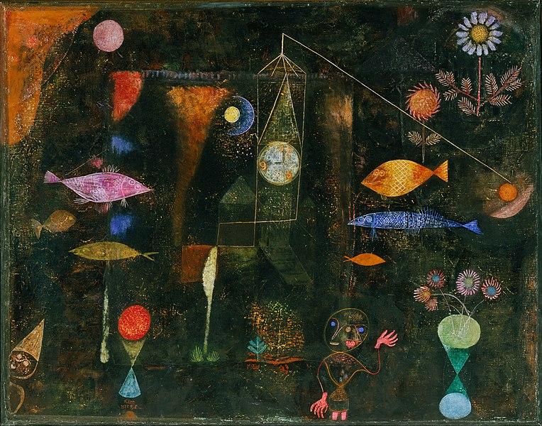 魚の魔法》パウル・クレー|MUSEY[ミュージー]
