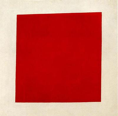 赤の正方形